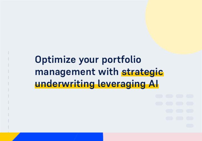 CMS WEBINAR SQUARE Optimize your portfolio management with strategic underwriting leveraging AI