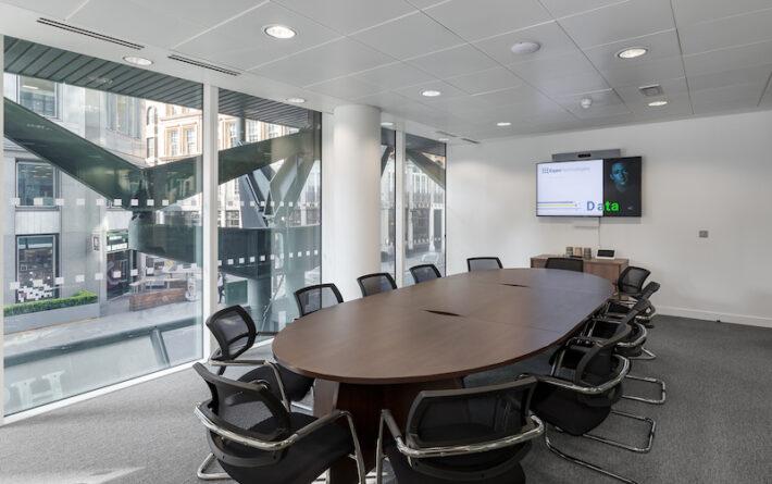 Eigen meeting room