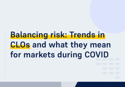CMS ON DEMAND WEBINAR Balancing risk Trends in CL Os and what they mean for markets during COVID