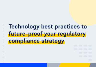 CMS WEBINAR Technology best practices to future proof your regulatory compliance strategy
