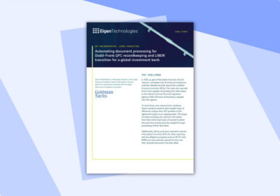 GS QFC LIBOR case study