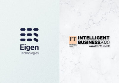 NEWS Eigen and ING win FT Award for Financial Services
