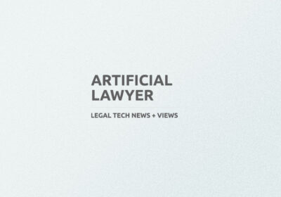 PRESS COVERAGE Artificial Lawyer